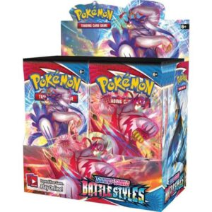 Pokémon Battle Styles booster box