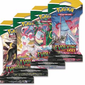 Pokemon evolving skies sleeved booster pack