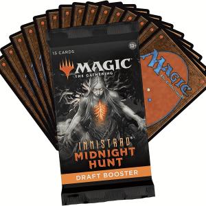 MTG Innistrad midnight hunt draft boosters