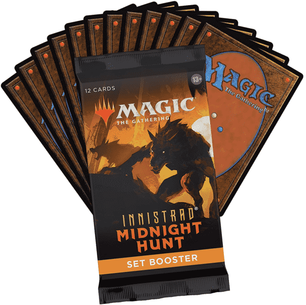 innistrad midnight hunt set booster packs