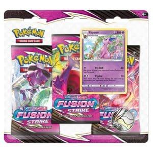 fusion strike 3 pack blister espeon