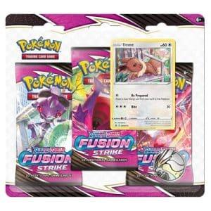 fusion strike 3 pack blister eevee